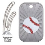 Baseball Dog Tag Baseball Trophy Awards
