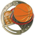 Enamel Basketball Basketball Trophy Awards