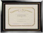 Certificate Document Frame Certificate Plaques
