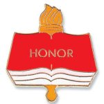 Honor Lapel Pin Chenille Lapel Pins