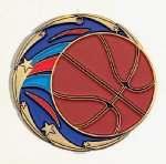Color Star Basketball Medals Color Star Medals