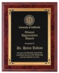 Ruby Marble Finish Recognition Plaque Employee Awards
