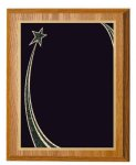 Oak Finish Recognition Plaque Employee Awards