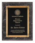 Black Marble Recognition Plaque Employee Awards