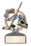Ice Hockey Multi Color Sport Resin Figure Hockey Trophy Awards