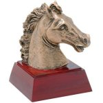 Horse Resin Mini-Series Resin Trophy Awards