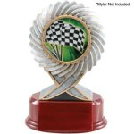 2 Insert Holder, Motion Resin Multi-Activity Mylar Resin Trophy Awards