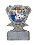 Action Sport Mylar Holder Multi-Activity Mylar Resin Trophy Awards