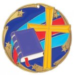 Color Star Religion Medals Religious Awards