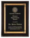 Black Piano Finish Recognition Plaque Sales Awards