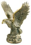 Gold Metal Eagle Trophy Sales Awards