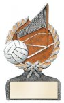 Volleyball Multi Color Sport Resin Figure Volleyball Trophy Awards
