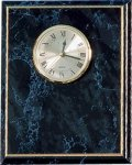 Black Marble Finish Clock Plack Wall Clocks